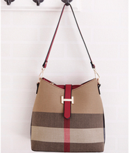 Ins D-130 Lady's bag-Brown&Red