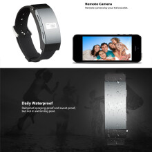 BESSKY Blood Oxygen Pressure Heart Rate Monitor Pedometer Smart Watch Bracelet Bluetooth Earphone_