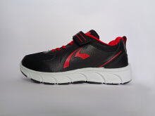 RECORD Alabama Men Running Shoes Black Red