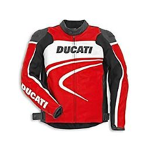 Ducati Leather Jacket Sport C2 Red Perf. Man