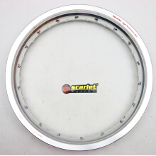 SCARLET RACING -Velg motor - uk/17-300 type WM shape silver Others