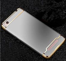 Smatton Case hp Xiaomi Redmi 4A 3 in 1 Luxury Electroplate Ultra Thin Hybrid Shockproof Case Cover Shell