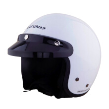 CARGLOSS CF Retro Army Retro Helm Half Face - SP.White