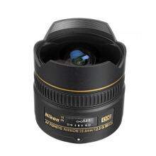 Nikon AF 10.5mm f/2.8G IF ED DX Fisheye Black