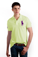 POLO RALPH LAUREN - Lacoste Mesh Polo Shirt Cruise Lime Men