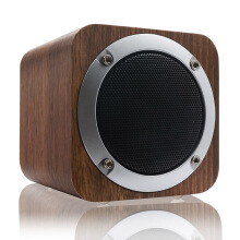 Vinmori Bluetooth Speaker Wooden Portable Bluetooth 4.0 Speakers Wireless Computer Speaker with Enhanced Bass Resonator