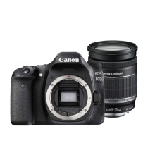 Canon EOS 80D Kit 18-200mm IS WiFi Black