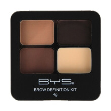 BYS Brow Definition Kit with Powder & Wax Wow Brows