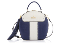 BONIA Dynamic Sonia Hand Bag - Navy Blue White [860170-321-13]