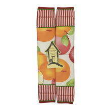 ARNOLD CARDEN Refrigerator Handle Cover Sweet Apple 1 Pair - Red 15x30cm