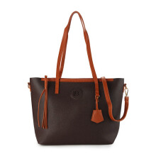 HUER Mollyu Tote Bag - Brown