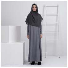 ZAHA INDONESIA Basic Abaya