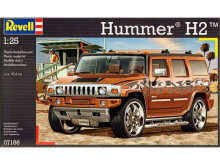 REVELL Model Set Hummer H2 - Plastic Model - Multicolor