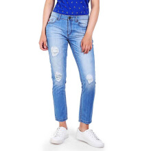 3SECOND Ladies Pants 106101723 - Blue