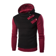 BESSKY Men's Long Sleeve Hoodie Hooded Sweatshirt Tops Jacket Coat Outwear _