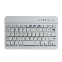 BESSKY Ultra Aluminum Wireless Bluetooth Keyboard For IOS Android Windows PC_