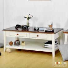 Meja Tamu Laci Maple Story - LIVIEN FURNITURE