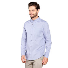 FAMO Men Shirt 1105 [511051711] - Blue