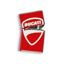 Ducati Empty Lighter Company SS Korek Api Red