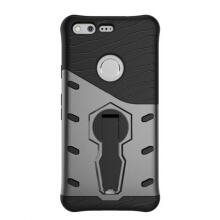 Smatton Case hp Google Pixel Case Armor Shockproof Hybrid Hard Soft Silicone 360 Degree Rotation Phone Cover shell