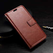 Smatton Case hp LG K10 Vintage Wax Crazy Horse Leather Wallet Case TPU Card Holder Cover Case