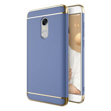 JOVEINS Xiaomi Redmi Note 4X Case 3 in 1 Electroplate Frame Matte Metal Cover for Xiaomi Redmi Note 4X Case