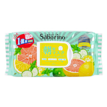 BCL Japan Saborino Morning Care 3-in-1 Face Mask #. Grapefruit fragrance fresh type 32 sheets