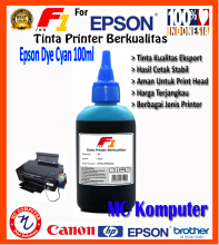 F1 Ink For Epson Dye Cyan 100 ml