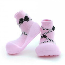 Attipas French Pearl Baby Sock - Pink
