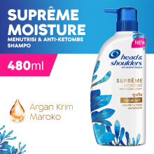 HEAD & SHOULDERS Shampoo Supreme Moisture Anti-Ketombe 480ml