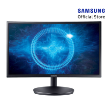 SAMSUNG LC24FG70FQEXXS 23.5 inch FreeSync Full HD QLED Curved Gaming Monitor (HDMI & Display Port)