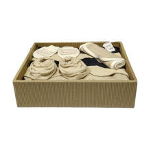 Cribcot TB Biscuit Navy Blue Gift Set - Milk Choco - 4 Pcs