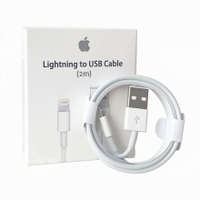 Apple iPhone iPad 2m data cable White