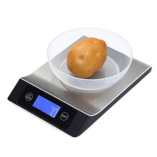 JDWonderfulHouse JDwonderfulhouse KCASA  KC-MT560 5kg/1g 10kg/1g Digital Scale Cooking Measure Tool Stainless Steel Electronic Weight LCD Display