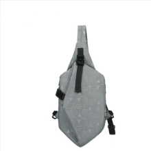Ins I-210 Leisure shoulder&riding bag(Small Size 16*6*24CM)-Grey
