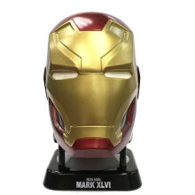 Iron Man Mark 46 Helmet Mini Bluetooth Speaker