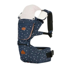 I-ANGEL Hipseat Carrier Rainbow Denim - Glorit