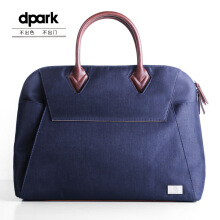 dpark Classic Business Briefcase for 15.6 inch Notebook - Dark Blue