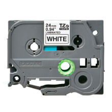 BROTHER Label Tape TZE-251 24MM Black on White