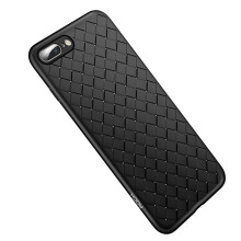 VEN For Apple iPhone 7 Plus/8 Plus Case, Soft Braid Case  Back Cover Weave Protector Ultra Thin Silicon TPU Shell