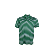 POLO RALPH LAUREN - Polo Shirt Custom Fit H.Green-White Men - RX1400001