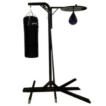 Stamina Boxing Tower Two Ways With Samsak M and Speedball Black Not Specified