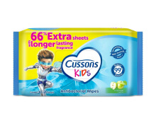CUSSONS KIDS Wipes Fresh Apple - 30's