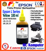 F1 Ink For Epson L Series Yellow 100 ml