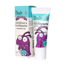 Buds for kids Children's Toothpaste with Fluoride - Blackcurrant [3-12 years]