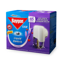 BAYGON Liquid Electric Base Set + Refill 33ml