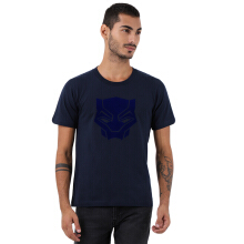 MARVEL Black Panther Tshirt Roundneck Co BlackP R26  - Navy