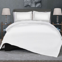CELINA Sprei Set & Quilt Cover King - Suite White - 180x200x40cm