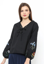 INSTYLE BY SURI Calla Top - Black All Size