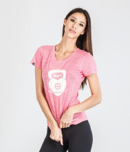 GRIPS Ladies Kettle Bell Tshirt - Pink